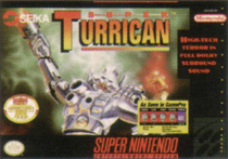 Photo de la boite de Super Turrican