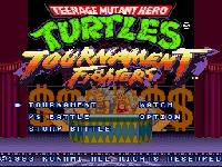Teenage Mutant Ninja Turtles - Tournament Fighters, capture d'écran