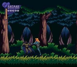 une photo d'écran de The Adventures of Batman and Robin sur Nintendo Super Nes