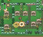 une photo d'écran de The Legend of Zelda - A Link to the Past sur Nintendo Super Nes