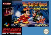 Photo de la boite de The Magical Quest - Starring Mickey Mouse