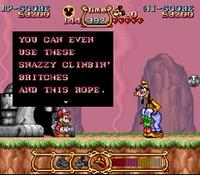The Magical Quest - Starring Mickey Mouse sur Nintendo Super Nes