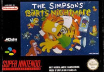 Photo de la boite de The Simpsons - Bart s Nightmare