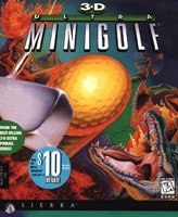 Photo de la boite de 3D Ultra Minigolf