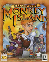 Photo de la boite de Escape from Monkey Island