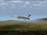 F-16 Multirole Fighter, capture décran
