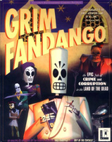 Photo de la boite de Grim Fandango