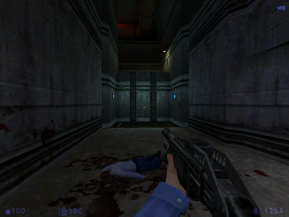 une photo d'écran de Half Life - Blue Shift sur PC