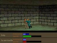 une photo d'écran de Indiana Jones and the Fate of Atlantis sur PC