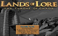 Lands of Lore - The Throne of Chaos, capture décran