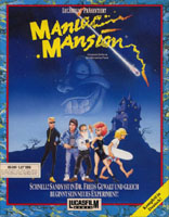 Photo de la boite de Maniac Mansion