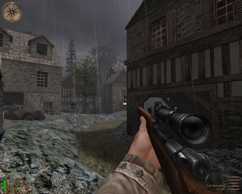une photo d'écran de Medal of Honor - Allied Assault sur PC