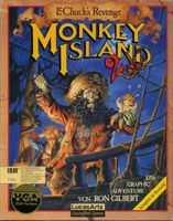 Photo de la boite de Monkey Island 2