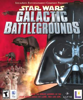 Photo de la boite de Star Wars - Galactic Battlegrounds