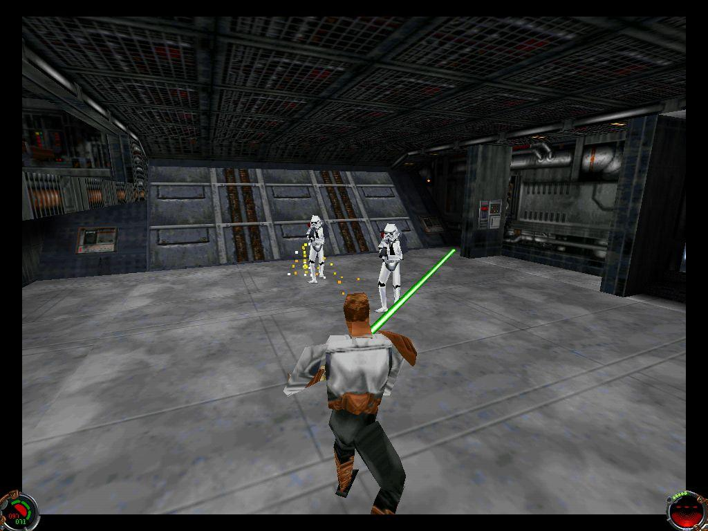 une photo d'écran de Star Wars - Jedi Knight - Dark Forces 2 sur PC