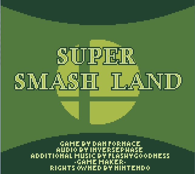 une photo d'écran de Super Smash Land sur PC