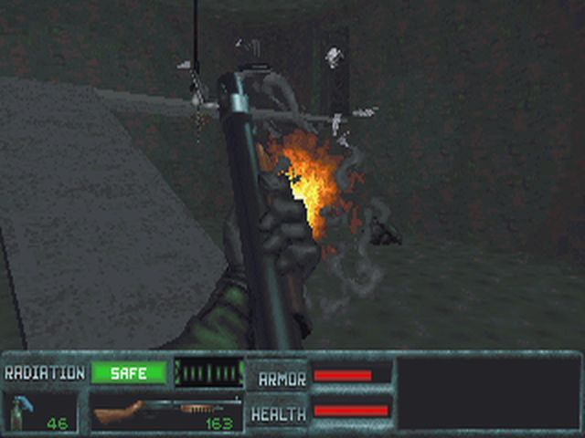 une photo d'écran de The Terminator - Future Shock sur PC