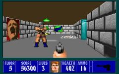 Wolfenstein 3D (PC), capture d'écran