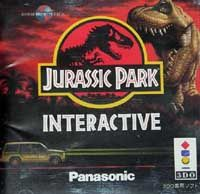 Photo de la boite de Jurassic Park Interactive