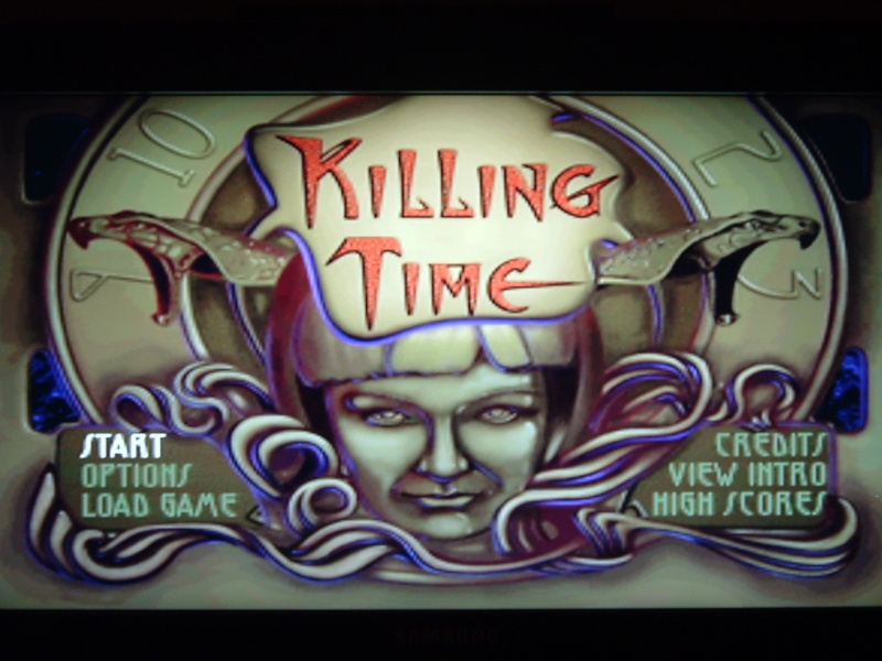 une photo d'écran de Killing Time sur Panasonic 3DO