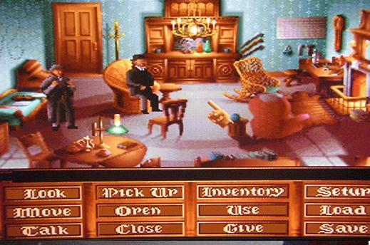 une photo d'écran de The Lost Files of Sherlock Holmes sur Panasonic 3DO