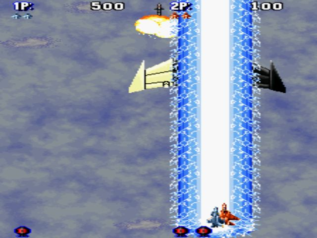 une photo d'écran de Aero Fighters 2 sur SNK Neo Geo