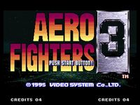 Aero Fighters 3, capture d'écran