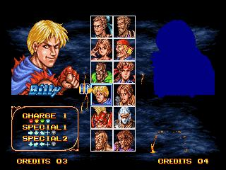 une photo d'écran de Double Dragon (Neo Geo) sur SNK Neo Geo