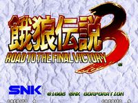Fatal Fury 3 - Road to the Final Victory, capture d'écran