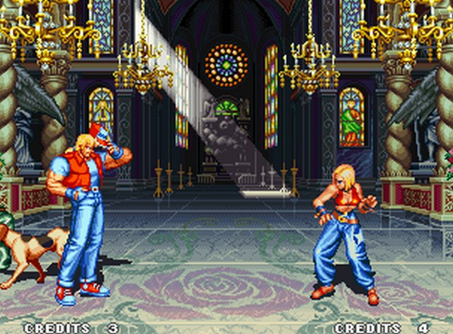 une photo d'écran de Fatal Fury 3 - Road to the Final Victory sur SNK Neo Geo