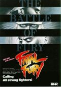 Photo de la boite de Fatal Fury