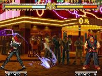 une photo d'écran de Garou Mark of the Wolves sur SNK Neo Geo