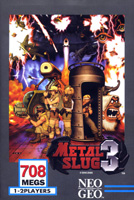 Photo de la boite de Metal Slug 3