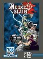 Photo de la boite de Metal Slug 5