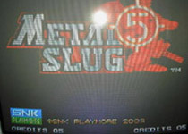 Metal Slug 5, capture décran