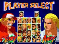 Real Bout Fatal Fury 2, capture décran