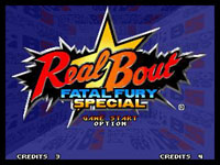 Real Bout Fatal Fury Special, capture décran