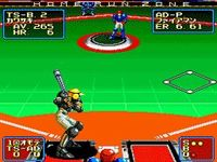 une photo d'écran de Super Baseball 2020 sur SNK Neo Geo