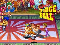 Super Dodge Ball sur SNK Neo Geo