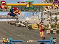 une photo d'écran de The King of Fighters 2001 sur SNK Neo Geo