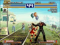 une photo d'écran de The King of Fighters 2003 sur SNK Neo Geo