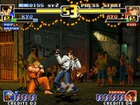 The King of Fighters 99 - Millenium Battle sur SNK Neo Geo