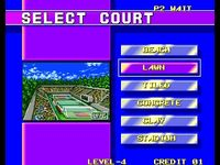 Windjammers, capture décran