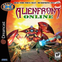 Photo de la boite de Alien Front Online