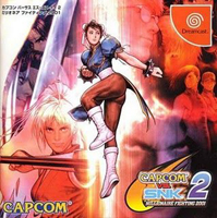 Photo de la boite de Capcom VS SNK 2 - Millionaire Fighting 2001