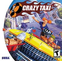 Photo de la boite de Crazy Taxi