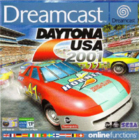 Photo de la boite de Daytona USA 2001