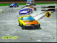 une photo d'écran de Daytona USA 2001 sur Sega Dreamcast