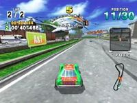 Daytona USA 2001, capture décran