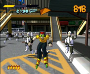 Jet Set Radio, capture d'écran